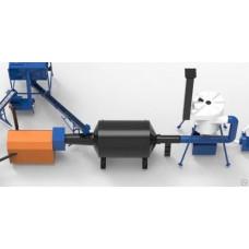 Барабанный сушильный агрегат мод. АВМ 0.65